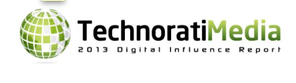 Technorati 2013 Digital Influence report